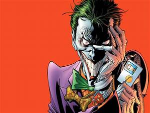 Joker Comic Wallpaper - WallpaperSafari