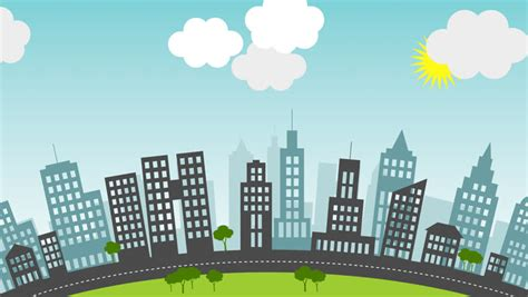 City Animated Wallpaper - animated city background www imgkid the image kid