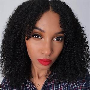 Kinky Curly Clip In Hair Extensions   3b-3c Natural Hair ...  Curly