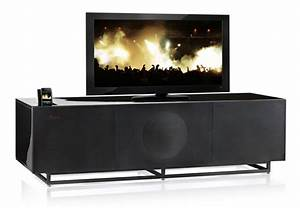 Meuble Tv Home Cinema Intégré : meuble tv audio integre maison design ~ Melissatoandfro.com Idées de Décoration