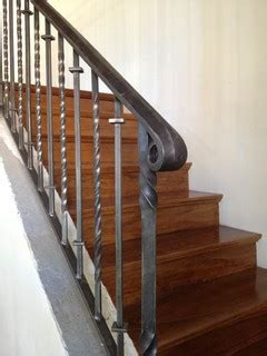 railings traditional staircase phoenix  grizzly
