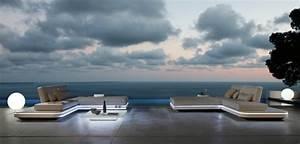 Salon Exterieur Design : salon de jardin ext rieur moderne design et styl ~ Teatrodelosmanantiales.com Idées de Décoration