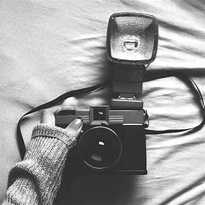 black and white tumblr | black and white, cute, girl ...