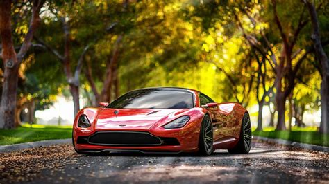 2018 Aston Martin Dbc Concept Wallpapers Hd Wallpapers