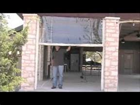 clear plastic vinyl patio curtains walls