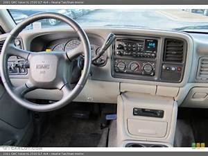 Neutral Tan  Shale Interior Dashboard For The 2001 Gmc