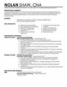 nurse assistant resume resume ideas With certified nursing assistant resume examples