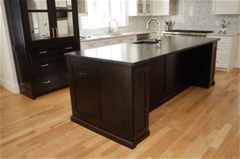 sinks for the kitchen two sided island cabinets transitional kitchen 8504