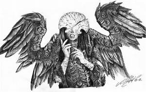 Bild: Engel, Tod, Flügel, Hellboy von Blaze88 bei KunstNet