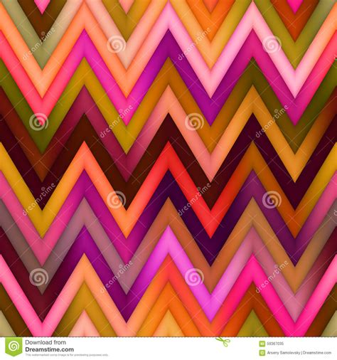 Abstract Geometric Color Gradient Seamless Background