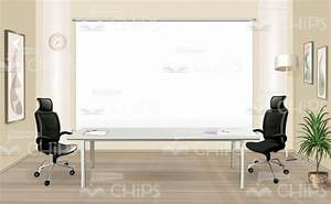 Training Room Vector Background