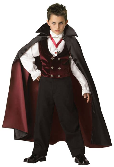 halloween vampire costume boys scary child gothic costumes dracula party theme haunted boy vampires children cape childrens amazon couples