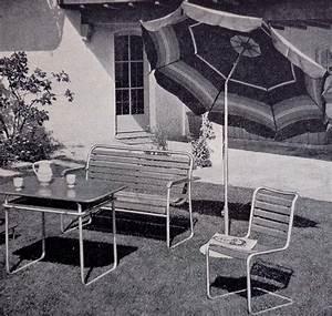 Mobilier D Extérieur : embru bigla mobilier d 39 ext rieur tubulaire vintage suisse ~ Teatrodelosmanantiales.com Idées de Décoration