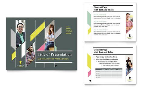 personal finance brochure template design