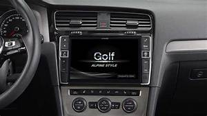 Golf 7 Radio : navigation premium alpine style pour golf 7 alpine ~ Kayakingforconservation.com Haus und Dekorationen