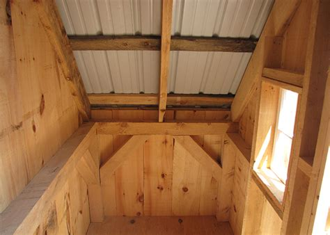 post  beam shed timber frame shed  shed