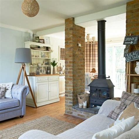 fireplace ideas log burning stoves open plan  cosy
