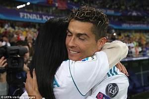 Ronaldo Gets Kiss From Georgina Rodriguez After Champions