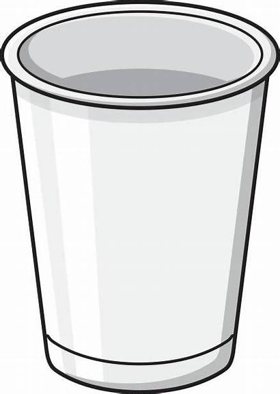 Cup Paper Clipart Plastic Clip Template Illustration