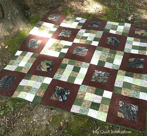 camo quilt pattern my quilt infatuation for of the great outdoors