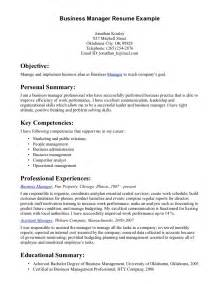 general resume objective sle business management resume objective exles resume sles