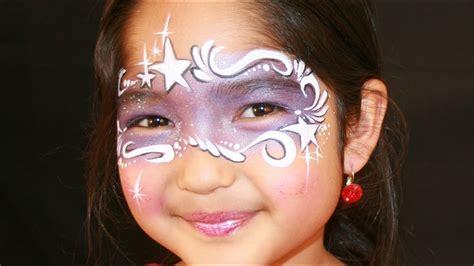 purple fairy face painting tutorial fairy princess