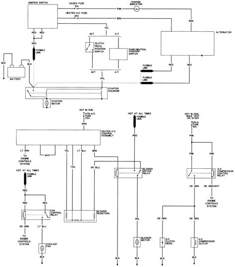 Pontica 3 Wire Alternator Diagram by 4t60e Problems 95 Grand Am 3 1 Help