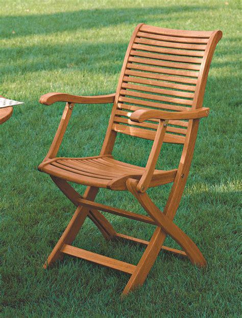 sedie giardino legno sedie in legno per giardino