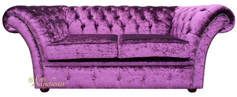 Purple Settee Sofa by Chesterfield Balmoral Purple 2 Seater Sofa Settee Boutique