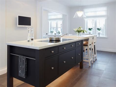 kitchen with black island simply beautiful kitchens the sola kitchens 6495
