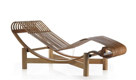 chaise perriand designapplause outdoor chaise longue