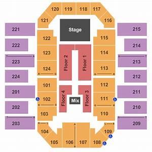 James Brown Arena Seating Chart