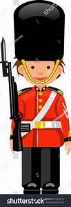 Royal Guard Buckingham Palace Stock Vector 216876244 ...