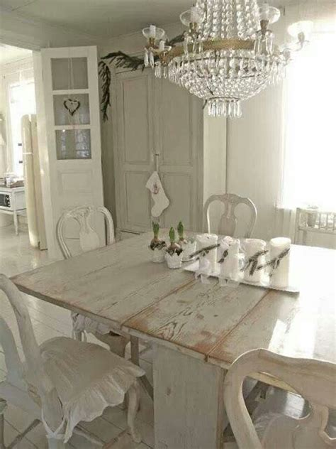 Shabby Chic Dining Room Chair Covers by Modern Dining Room Design And Decorating In Vintage Style