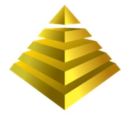 Pyramid Clipart Pyramid Chart Clipart The Arts Image Pbs Learningmedia