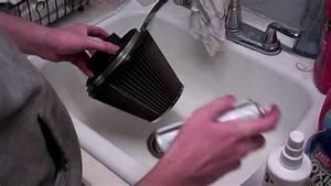 How To  Clean  U0026 Oil K U0026n Air Filter - 8 Easy Steps