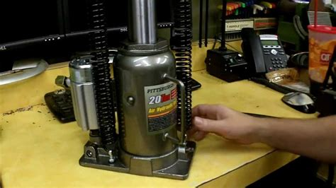 Harbor Freight Air/over Hydraulic Bottle Jack Review Item