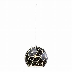 Suspension Noire Design : suspension triangle noire 40cm kare design ~ Teatrodelosmanantiales.com Idées de Décoration