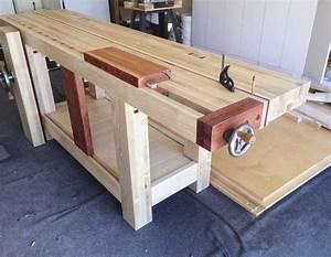Split Top Roubo workbench - by LBH @ LumberJocks com