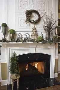 Rustic, Christmas, Mantel