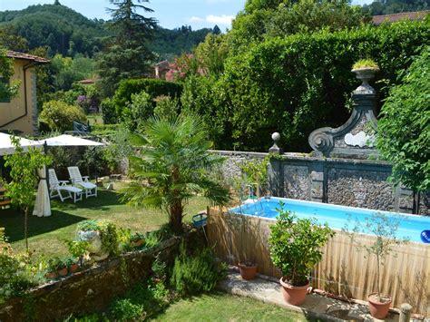 piscine bagni di lucca villa toscane jardin piscine wifi proche des