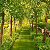 magnificent formal garden design Magnificent Manor House Decorating Ideas   Traditional Home