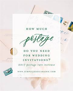 how much postage do you need for wedding invitations With how many stamps do wedding invitations need
