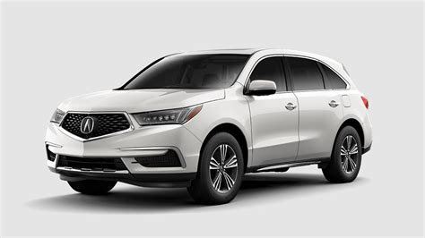2019 Acura MDX White : 2018 Acura Mdx Color Options