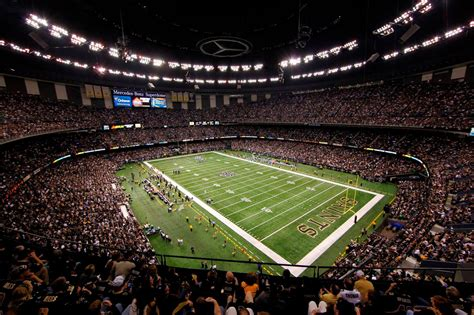 An asm global managed facility; Mercedes Benz Superdome DAS Installation Project