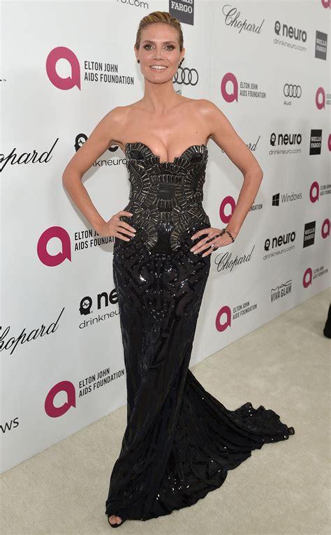 Heidi Klum The Annual Elton John Aids Foundation