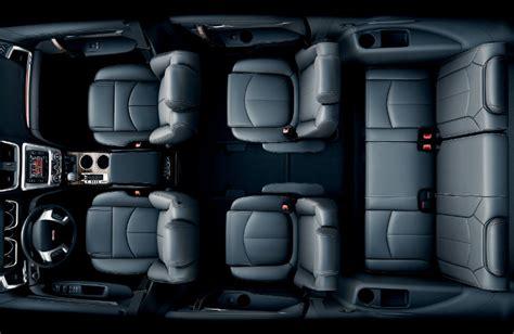 gmc suv  comfortable  row seats