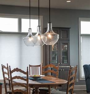 Bright Light Fixtures Kichler Everly Pendant In Kitchen Gross Electric