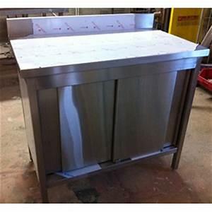 cuisine en inox cuisine ibaneta inox carrelage inox 1 m2 With meuble bas de cuisine 60 cm 11 meuble de cuisine avec evier inox franke vier inox lisse