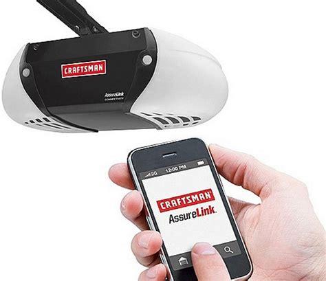 open your garage door with your smartphone technabob